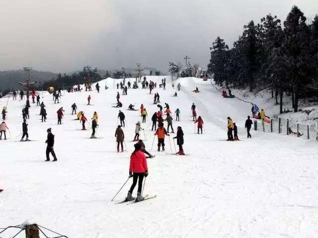 浙江省内也有滑雪好地方