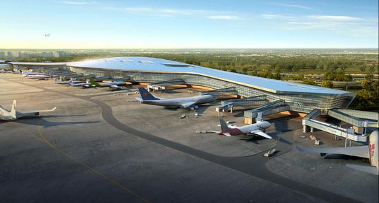 宁波机场三期扩建工程有重要进展 T2航站楼可投用