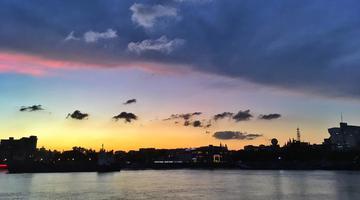 宁波夕阳之美