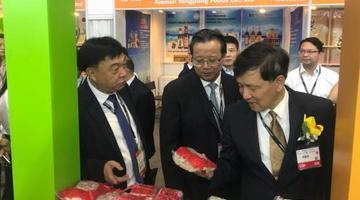 300余种甬土特产亮相香港美博会