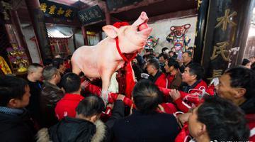 萧王庙传统庙会人气高