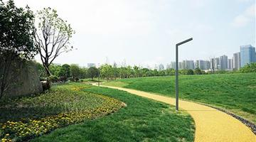 宁波北仑区文化公园开园