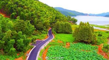 鎮海九龍湖環湖公路驚艷市民