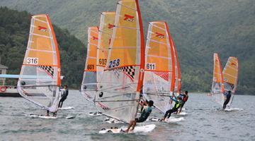 省青少年帆船锦标赛镇海开赛