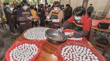 象山西周举办元宵民俗巡游活动