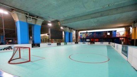 浙江省首个标准轮滑球场正式亮相宁波 位于鄞州区内