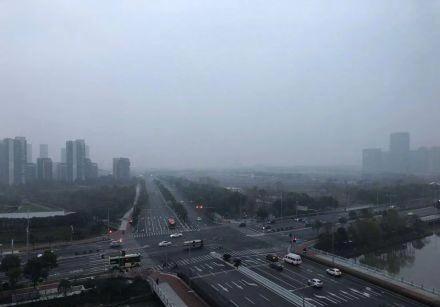 昨起宁波重启阴冷雨天模式 最低温度接近0摄氏度