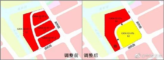 宁波对GX04地段进行规划调整 高新区将新增幼儿园