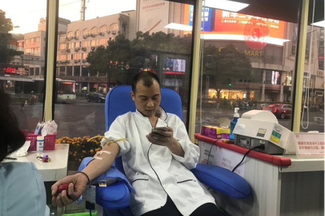 宁波爆炸:306位市民献血近十万毫升