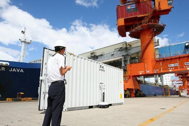 宁波首次运用智能机器人开展跨区域放射性联合检测