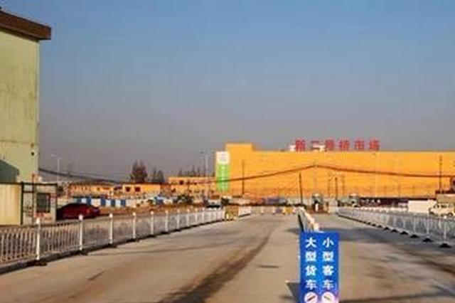 江北路林市场新出口正式建成投入使用 进出不超5分钟