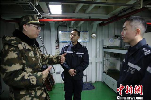 香港水警学员到宁波参加交流观摩 增进双方友谊