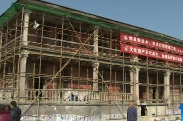 宁波奉化86岁历史建筑平移百余米