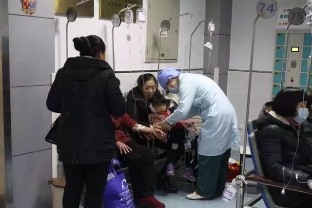流感高峰鄞州儿科门诊持续爆棚 接种疫苗最有效