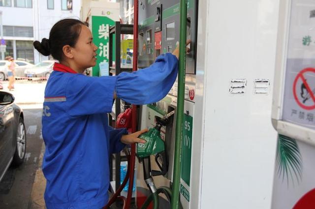 宁波成品油年内首次上涨 95号每升涨0.15元
