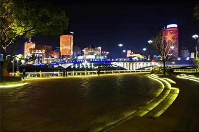 江北漂亮的三江口公园建成亮相了 大波美图等着你