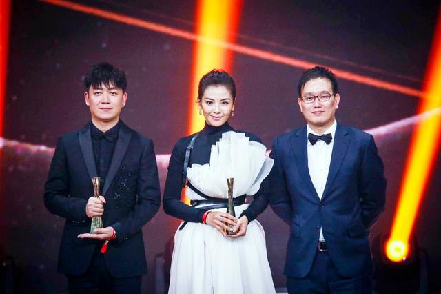 2017新浪微博之夜现场 刘涛潘粤明获年度实力演员