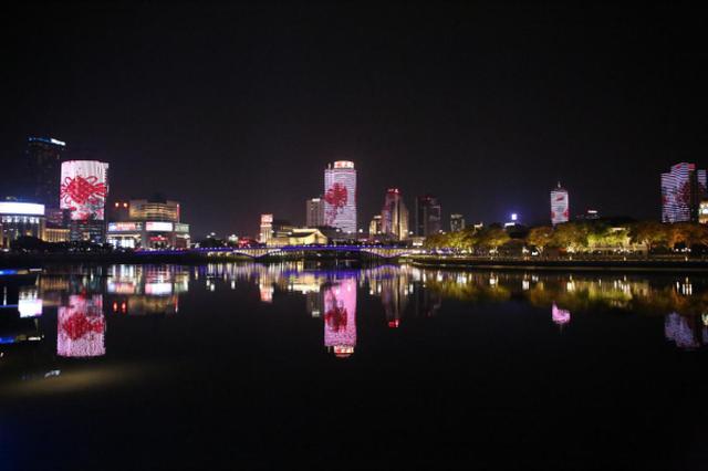 喜迎新春 宁波三江六岸春节灯光秀已拉开帷幕