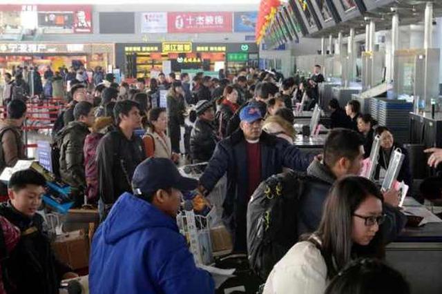 春节机场迎来出行高峰 单日客流首次突破3.3万创新高