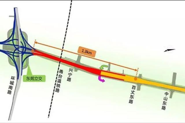 宁波世纪大道快速路一期工程全线开放交通