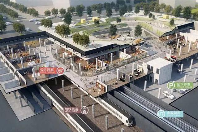 宁奉城际铁路开通在即 地下空间将呈现更多功能