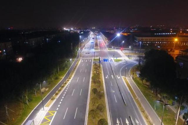 东钱湖北景观道通车 鄞县大道镇岚路-环湖路改建完工