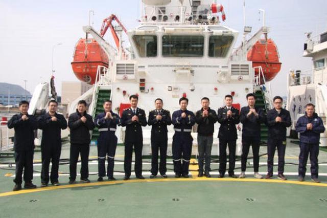 """大海上的春节 宁波海巡团队值守保""""海上高速""""畅通"""