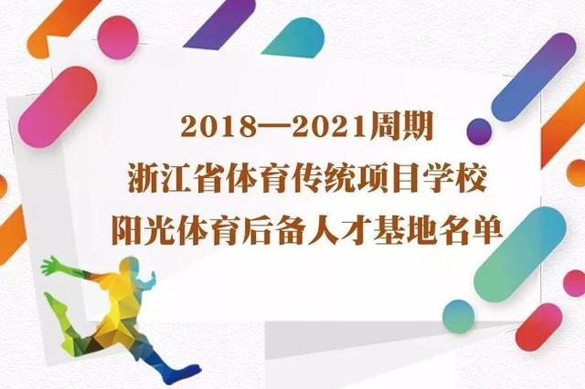 奉化区锦屏中心小学被命名为阳光体育后备人才基地