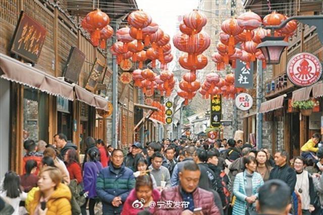 春节期间阴雨连绵 宁波各大购物场所消费热度不减