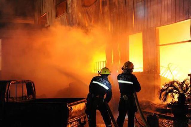 春节期间宁波发生98起火灾 多因放烟花爆竹引起