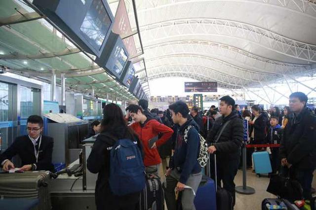 宁波机场迎返程高峰 春节期间客流量同比增26.6%