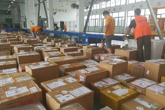 宁波国际邮件互换局进出境邮件突破2000万件