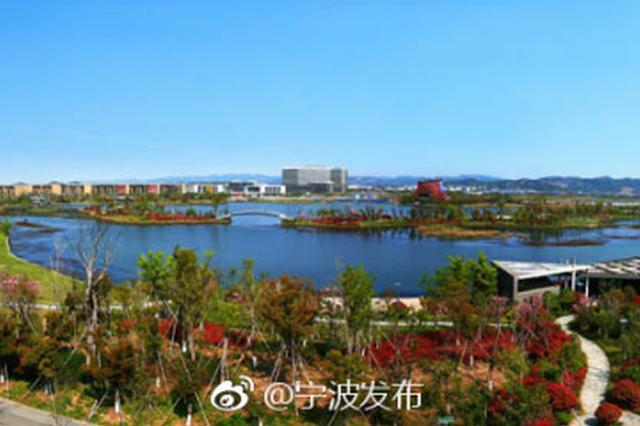 美景中奔跑 宁波山马赛道穿越慈城新城