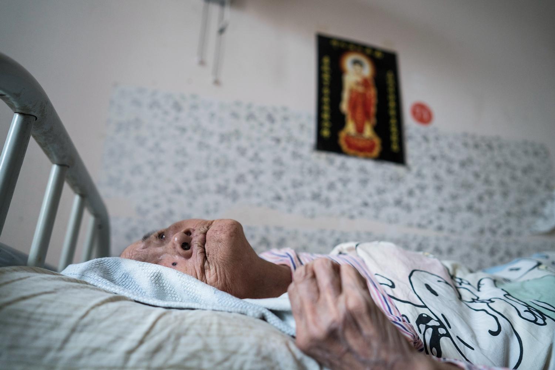 临终医院 三十年送走四万老人