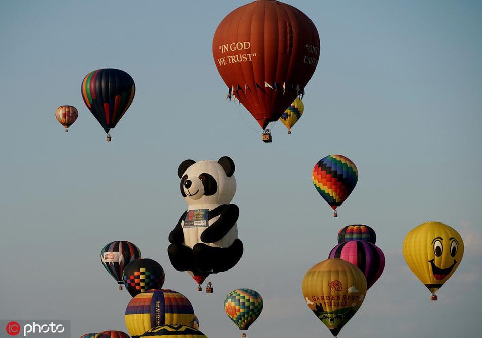 梦幻!北美最大夏季热气球节在美国新泽西州举行