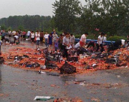 一声巨响!火箭残骸掉落陕鄂交界处,标注中国航天字样