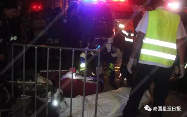 24名中国游客在泰国受伤 出动30辆救护车