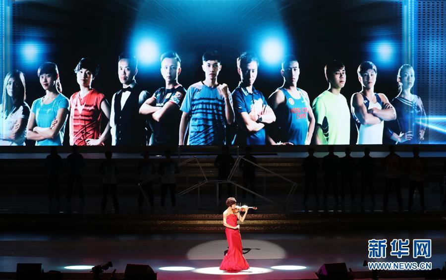 年晚会演职人员合唱 歌唱祖国