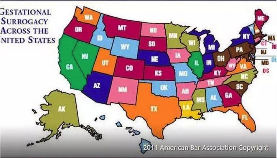 美国为何有8个不同版本的代孕法规?