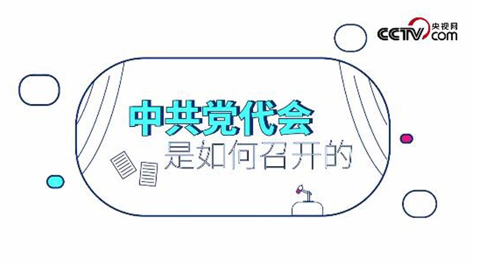 视频动画:中共党代会是如何召开的