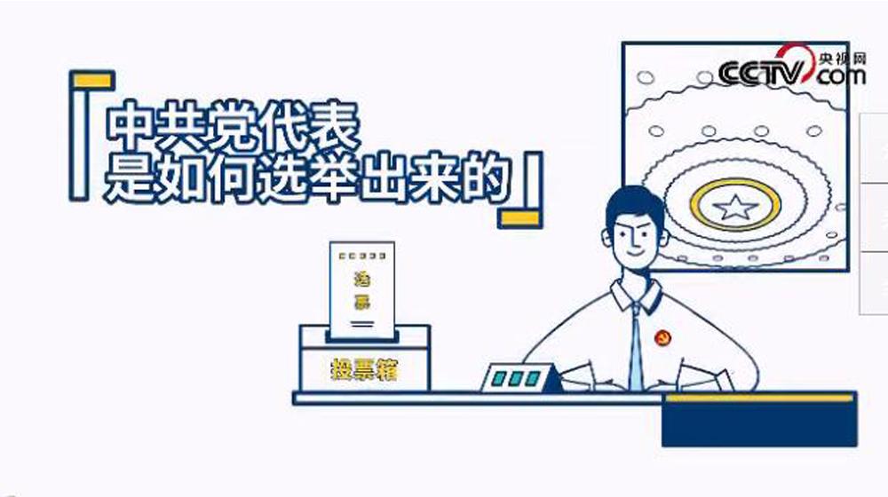 视频动画:中共党代表是怎么选出来的