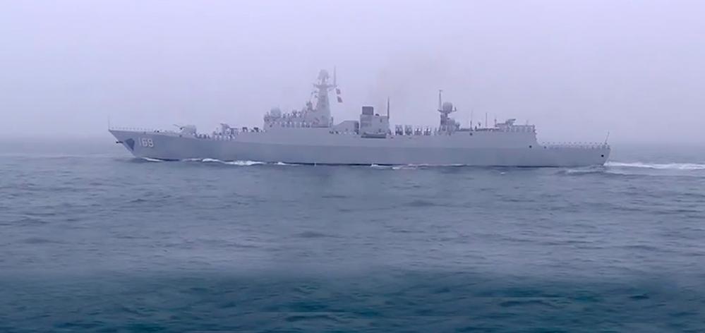 全程视频:习近平出席庆祝人民海军成立70周年海上阅兵活动