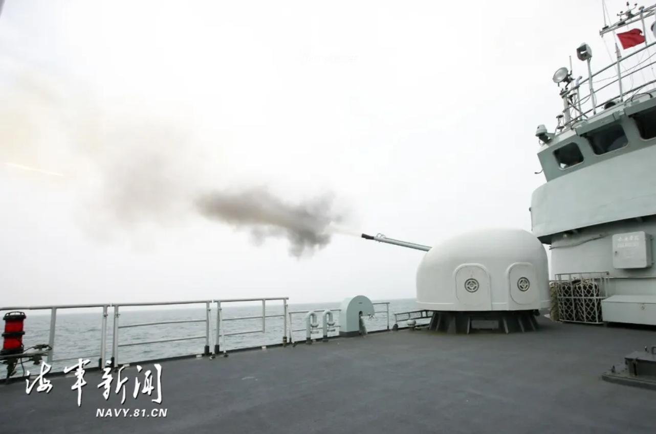 最佳拍档!东海舰队053H3携056出海防空反潜不在话下