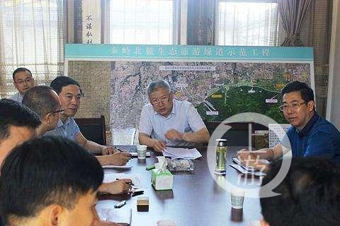 焦維發擔任了將近4年的西安市秦嶺辦書記。