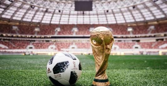 ▲本届世界杯官方用球Telstar18(电视之星18)
