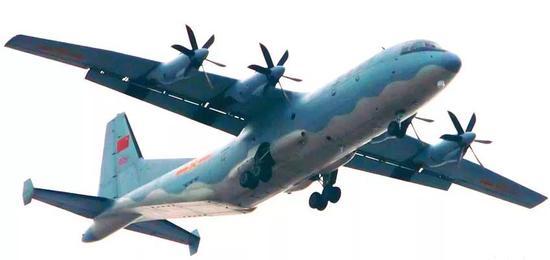 ▲中国空军运-9运输机