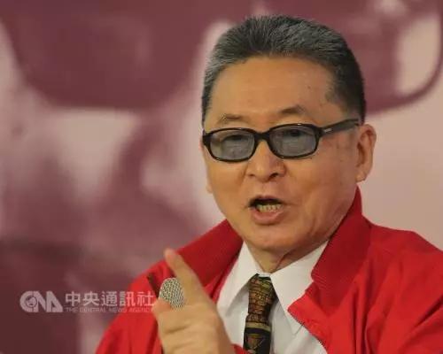 """资料图:李敖。图片来源:台湾""""中央社""""。"""
