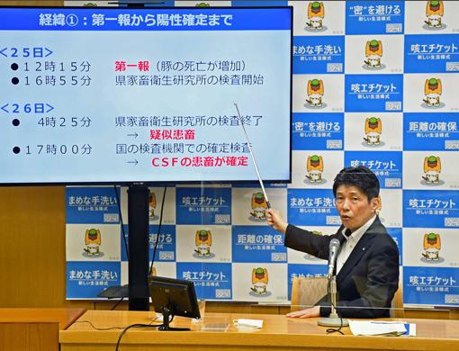 日本养猪大县爆发猪瘟 5400头猪将被扑杀图片