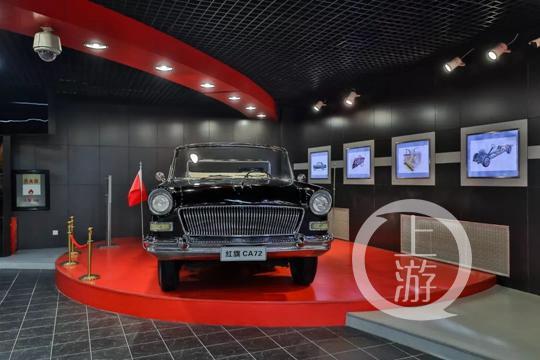 ▲红旗CA72检阅车。摄影/上游新闻记者 张莹