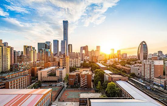 ▲资料图片:中国北京都会风采